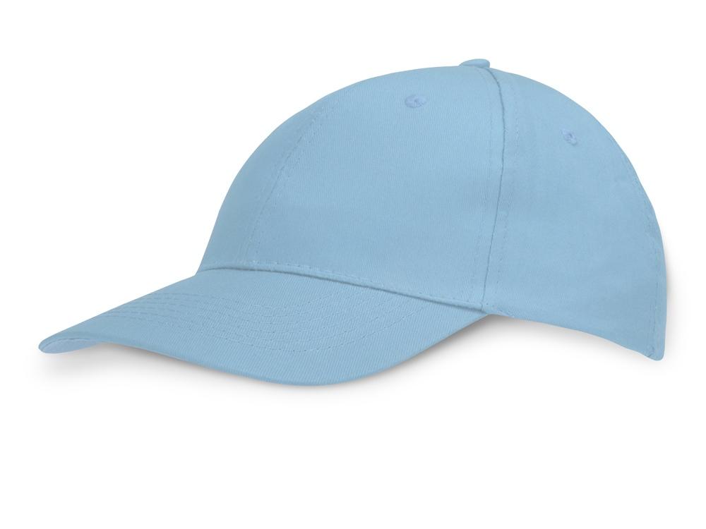 Бейсболка Detroit C 6-ти панельная, св. синий