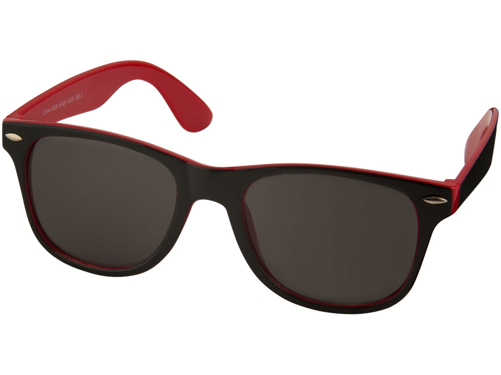Солнцезащитные очки Sun Ray, красный/черный