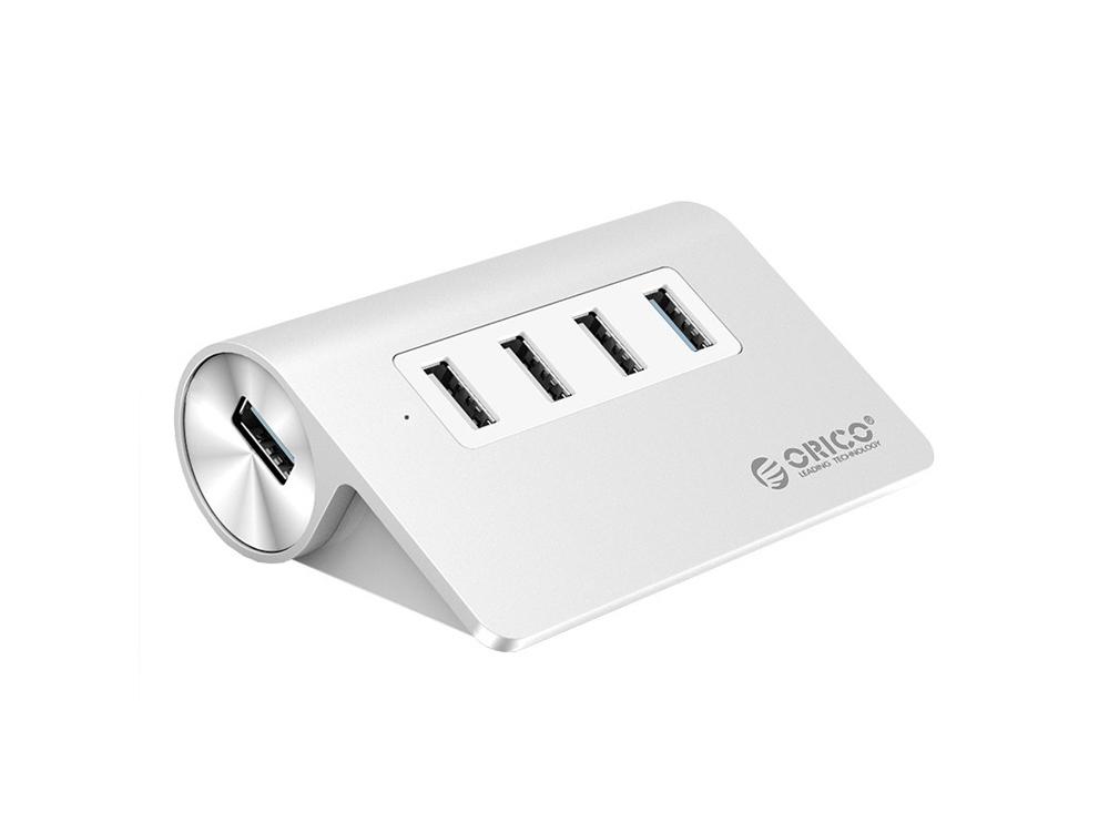 USB-концентратор Orico M3H4-U32 (серебристый)