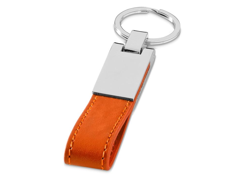 Брелок с ремешком Альбин, оранжевый