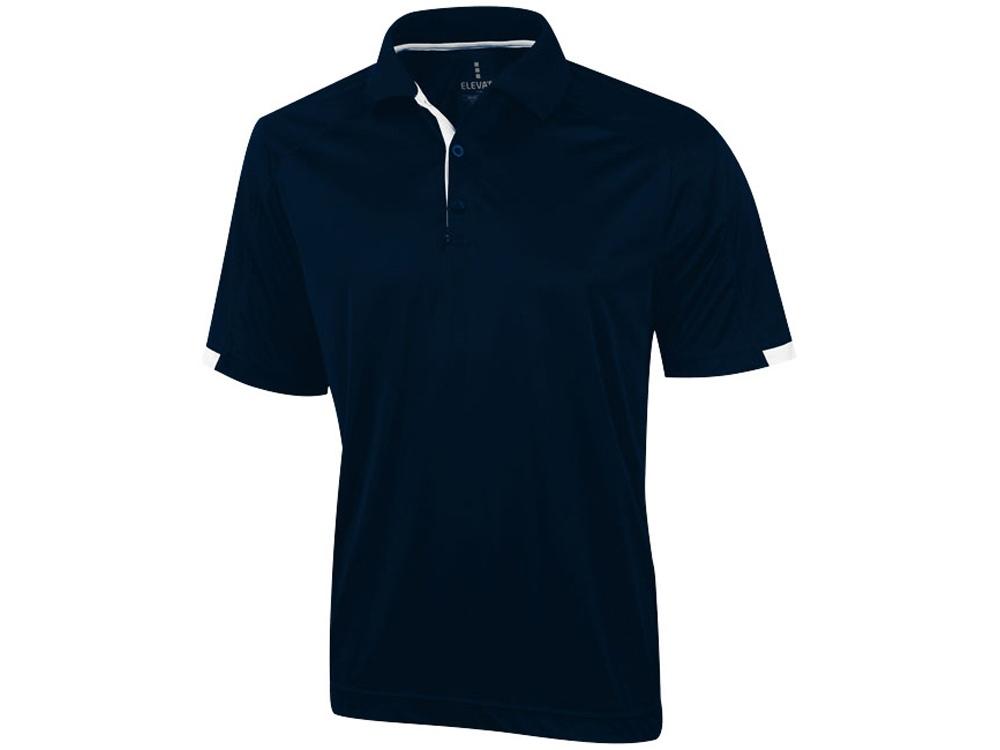 Рубашка поло Kiso мужская, темно-синий