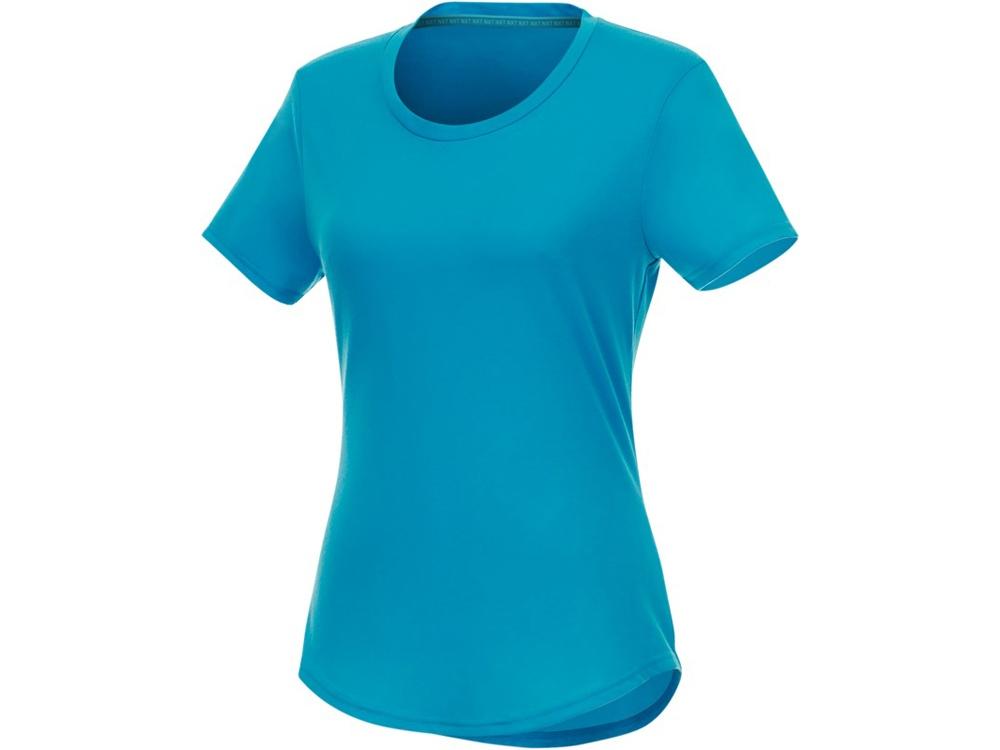 Женская футболка Jade из переработанных материалов с коротким рукавом, nxt blue
