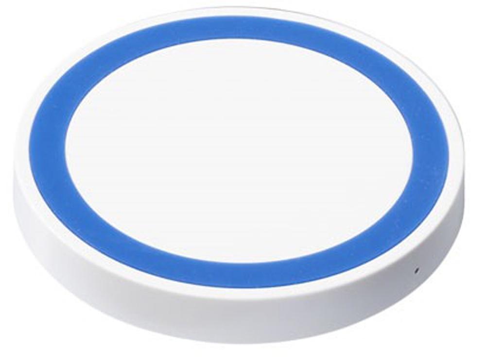 Устройство для беспроводной зарядки, белый/синий