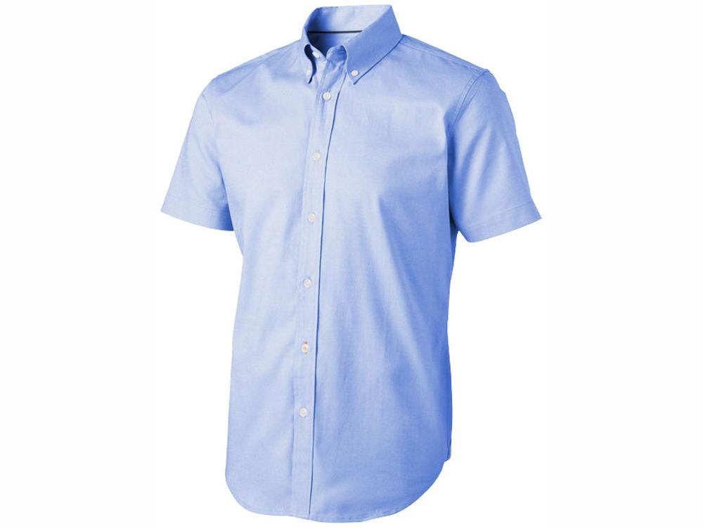 Рубашка Manitoba мужская с коротким рукавом, голубой
