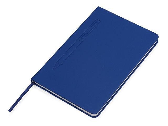 Блокнот А5 «Magnet» soft-touch с магнитным держателем для ручки
