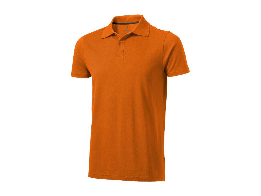 Рубашка поло Seller мужская, оранжевый