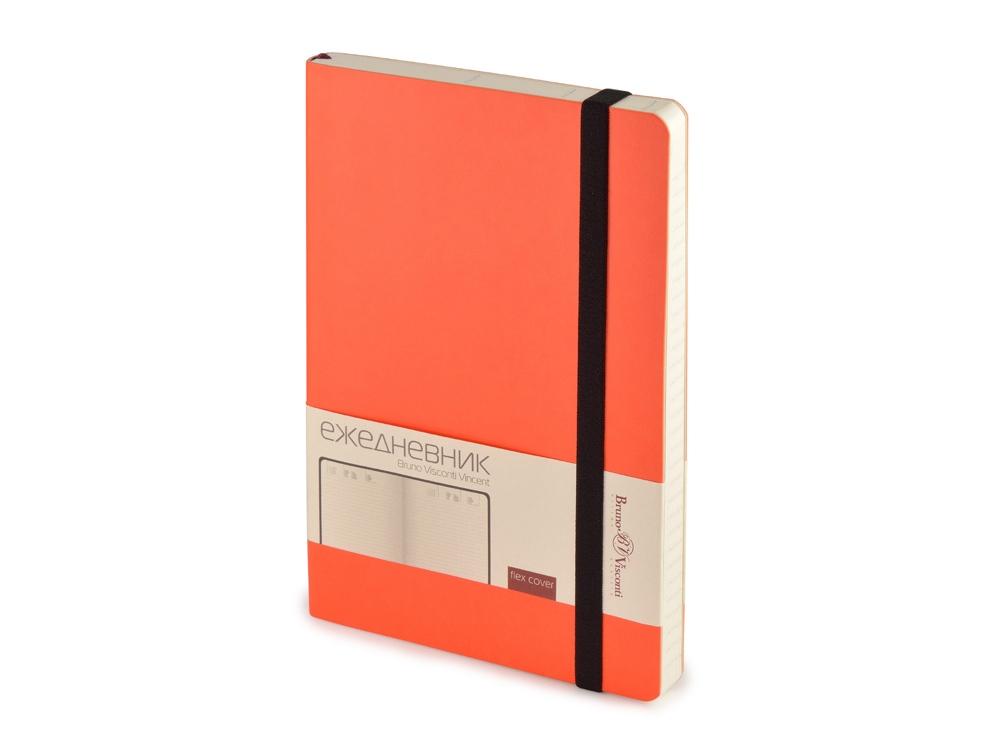 Ежедневник недатированный А5 Vincent, оранжевый
