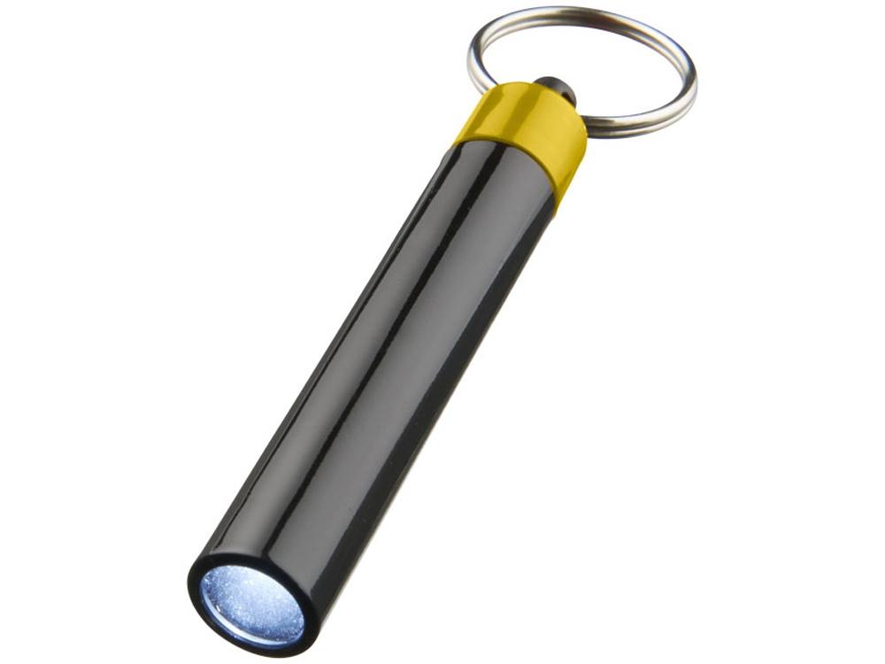Брелок-фонарик Retro, желтый