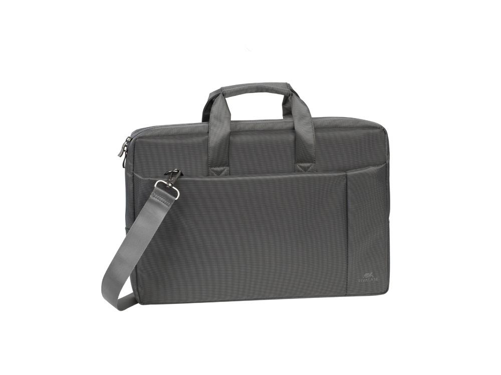 Сумка для ноутбука 17.3 8251, серый