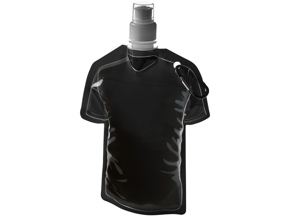 Емкость для воды в виде футболки Goal, черный