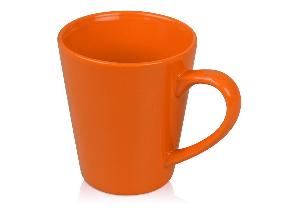 Кружка Конус 330 мл, оранжевый