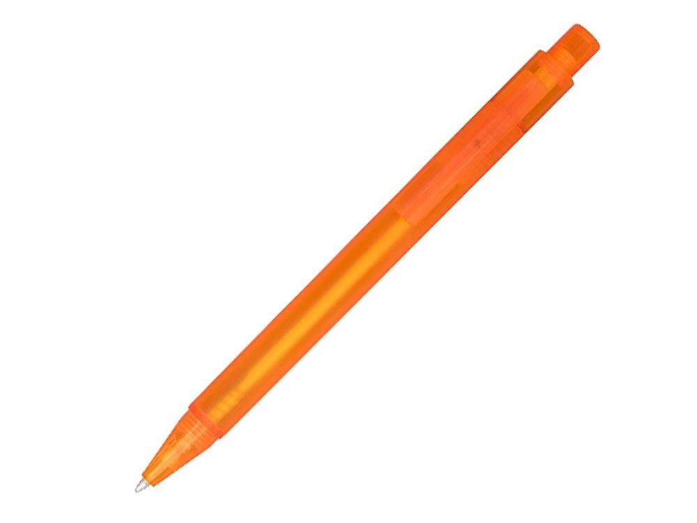 Перламутровая шариковая ручка Calypso, frosted orange