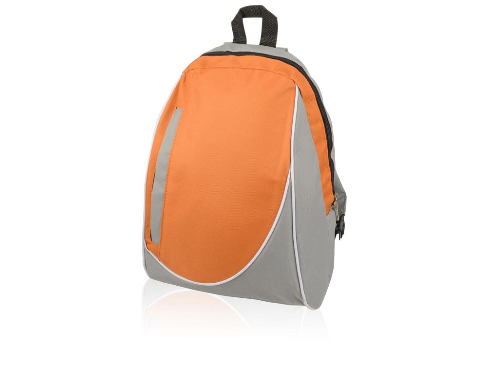 Рюкзак Джек, серый/оранжевый