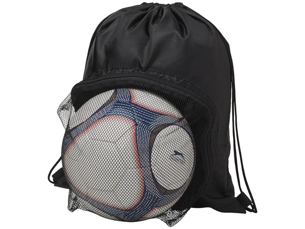 Спортивный рюкзак на шнурке, черный