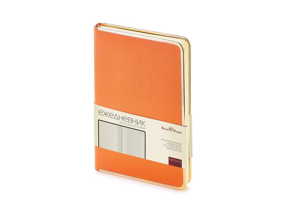 Ежедневник А5 недатированный Chelsea, оранжевый