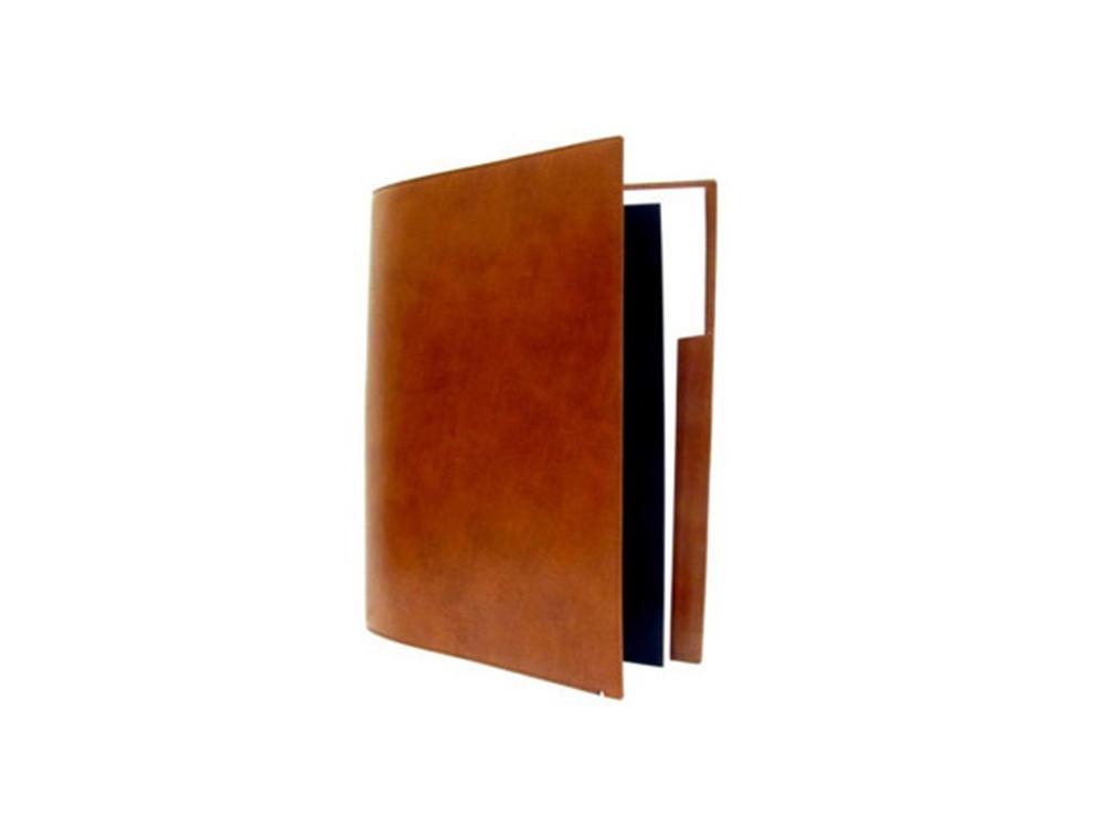 Папка с блокнотом А4 Elysee. S.T. Dupont, коричневый
