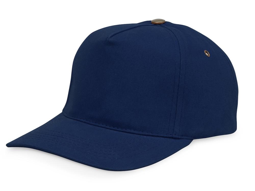 Бейсболка New York 5-ти панельная, темно-синий
