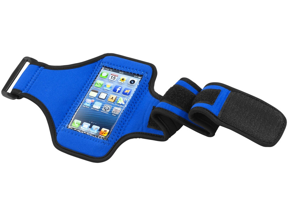 Чехол на руку для Iphone 5 , синий