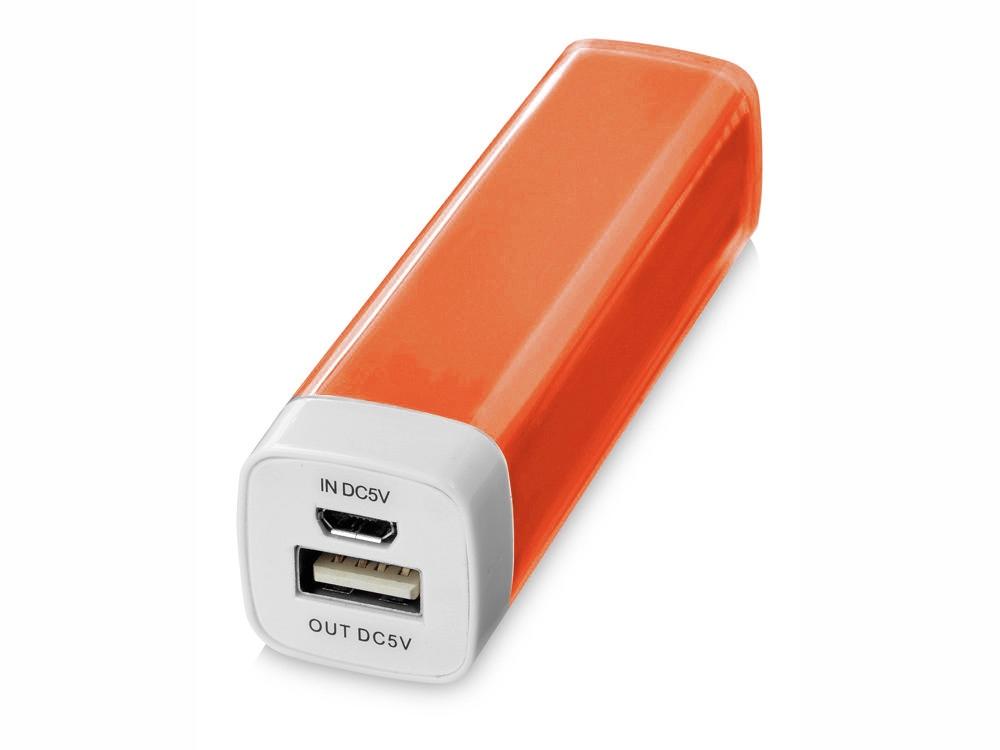 Портативное зарядное устройство Flash 2200 мА/ч, оранжевый