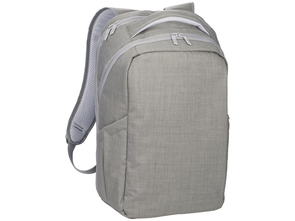Рюкзак Zoom® Grid TSA дня ноутбука 15, серый
