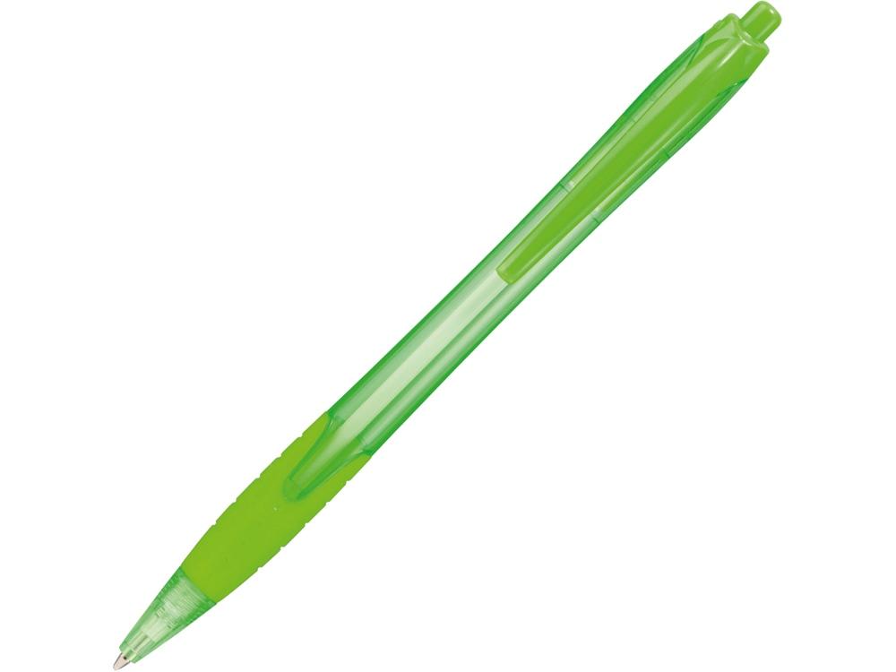 Ручка шариковая Naranjo, зеленый, синие чернила