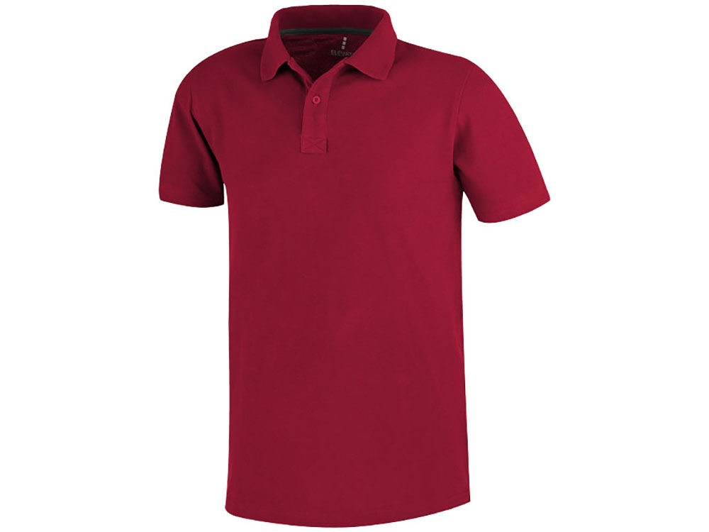 Рубашка поло Primus мужская, красный