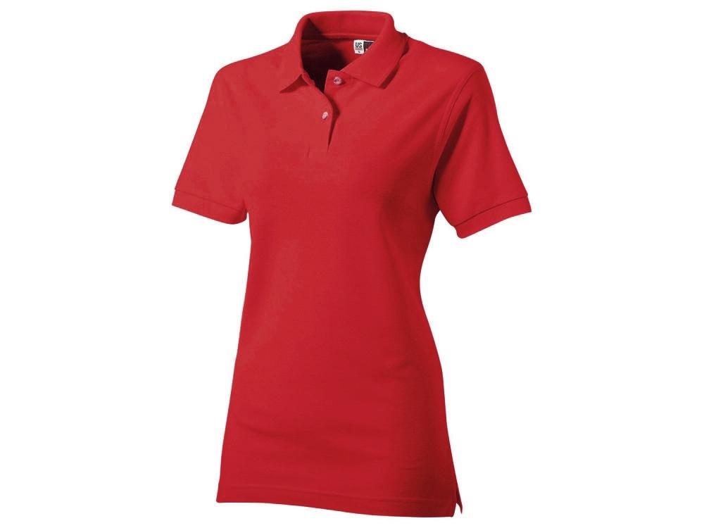 Рубашка поло Boston женская, красный