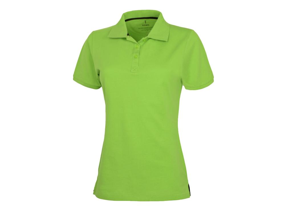 Рубашка поло Calgary женская, зеленое яблоко