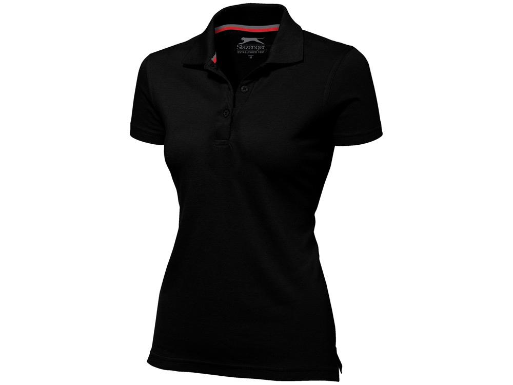 Рубашка поло Advantage женская, черный