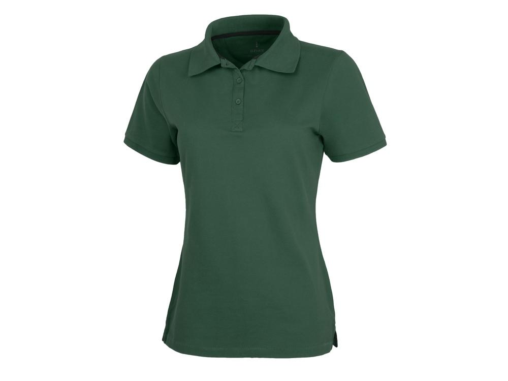 Рубашка поло Calgary женская, изумрудный
