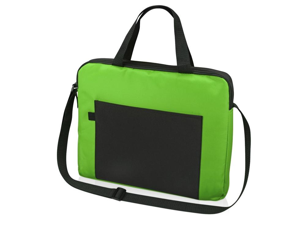 Конференц сумка для документов Congress, зеленый/черный