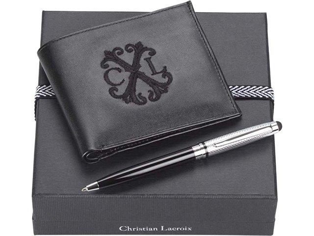 Подарочный набор: портмоне, ручка-стилус шариковая