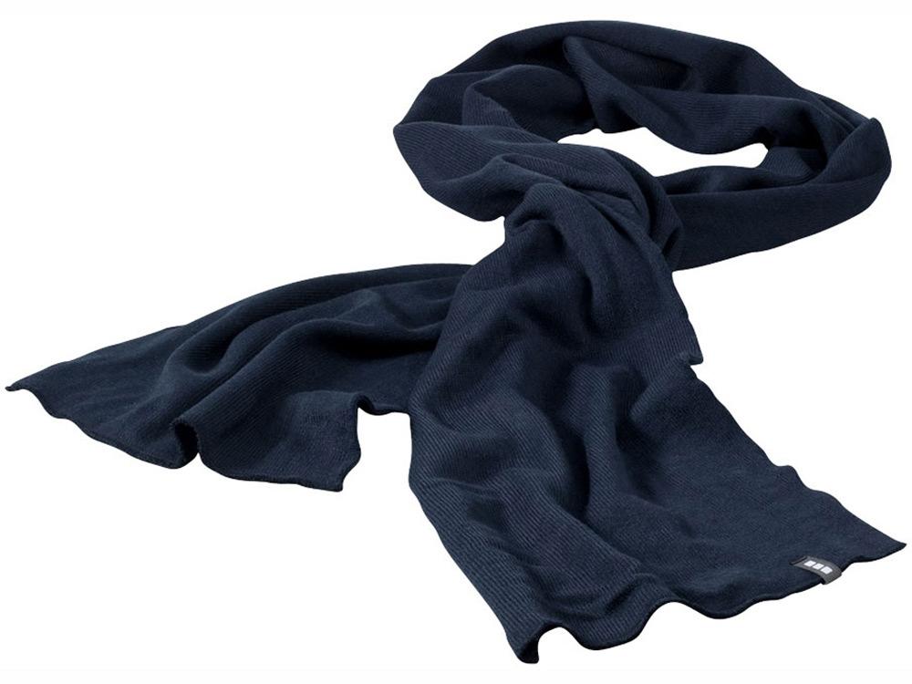 Шарф Mark темно-синий