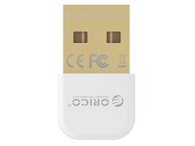 Адаптер USB Bluetooth Orico BTA-403 (белый)