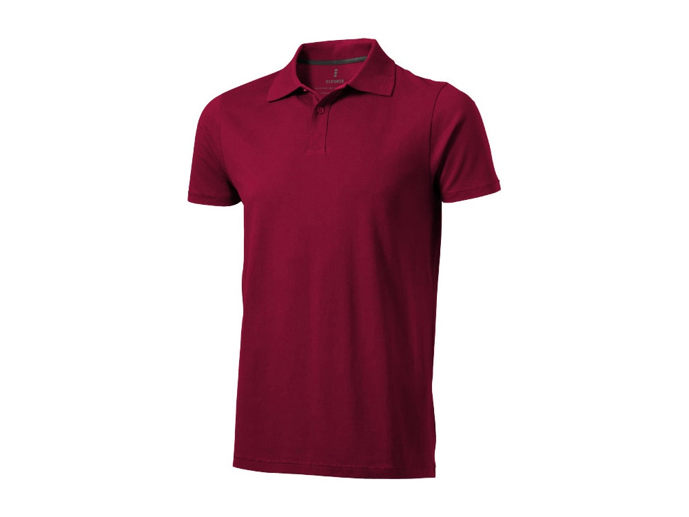 Рубашка поло Seller мужская, бургунди