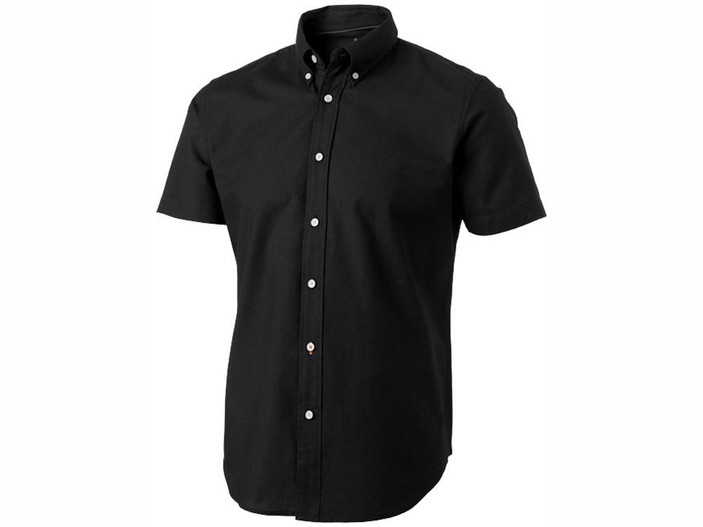 Рубашка Manitoba мужская с коротким рукавом, черный