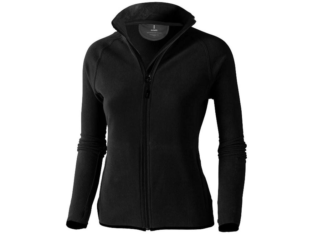 Куртка флисовая Brossard женская, черный