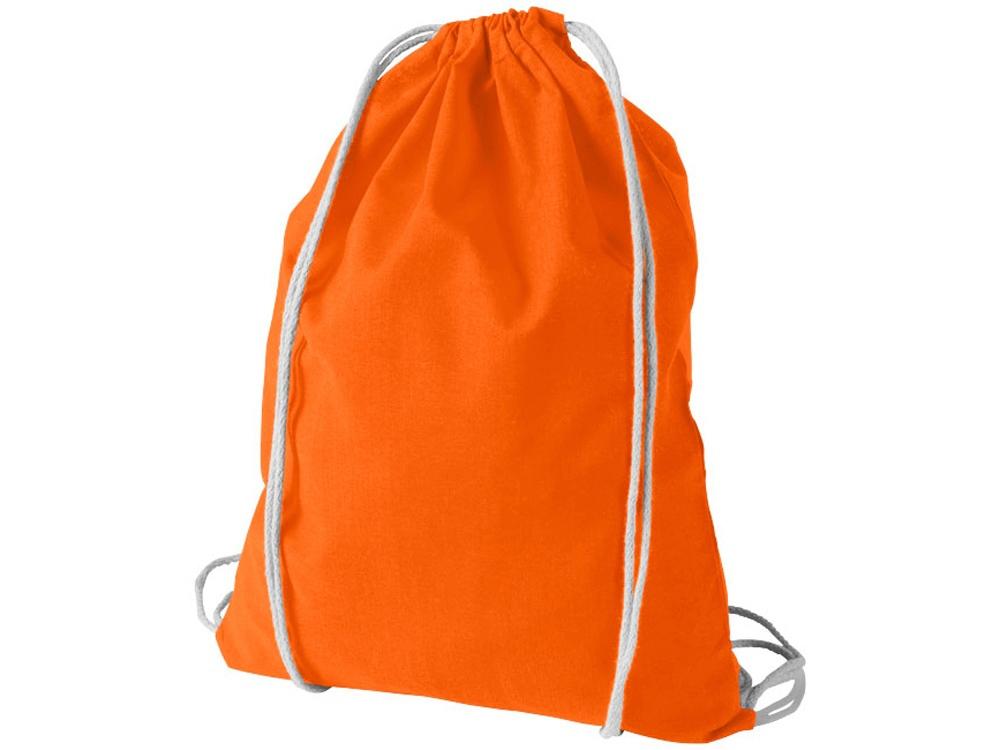 Рюкзак хлопковый Oregon, оранжевый