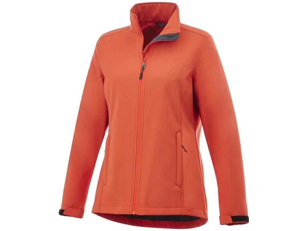 Куртка софтшел Maxson женская, оранжевый