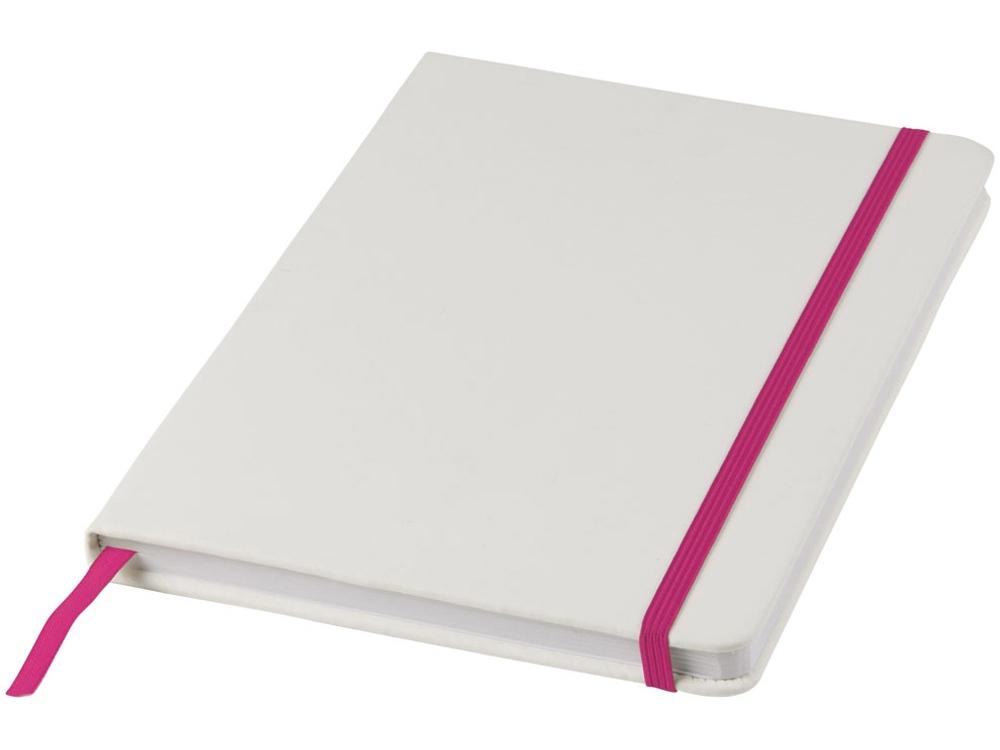 Блокнот А5 Spectrum, белый/розовый