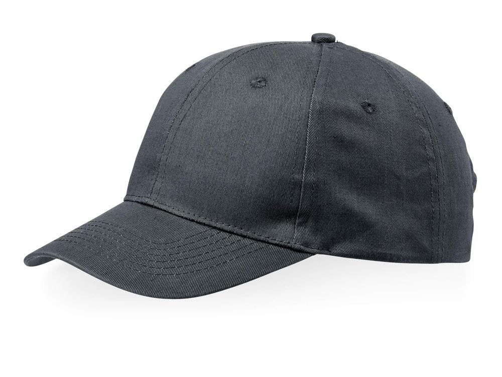 Бейсболка Detroit 6-ти панельная, серый