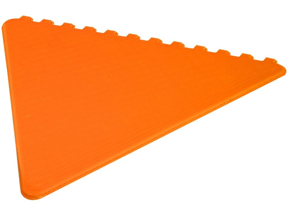 Треугольный скребок Frosty, оранжевый