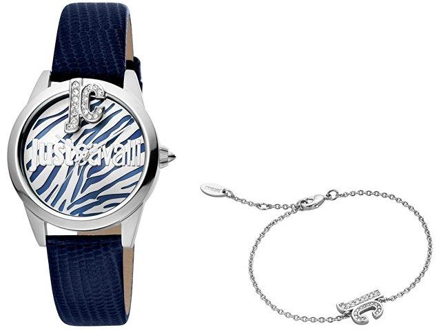 Подарочный набор: часы наручные женские, браслет (арт. 60007)