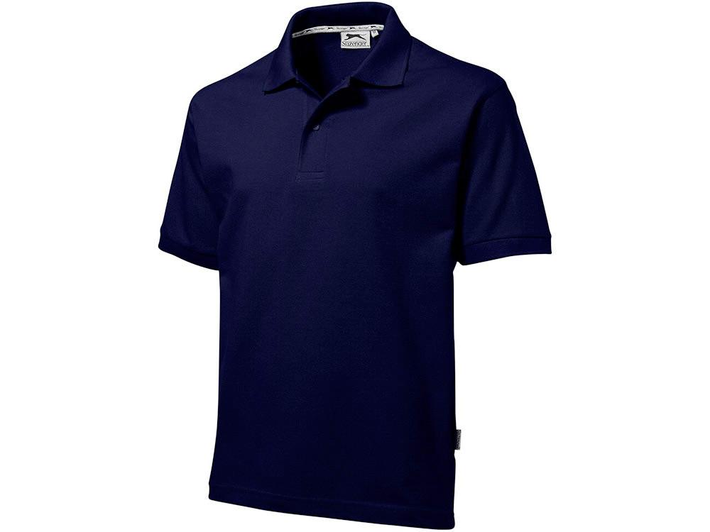 Рубашка поло Forehand мужская, темно-синий