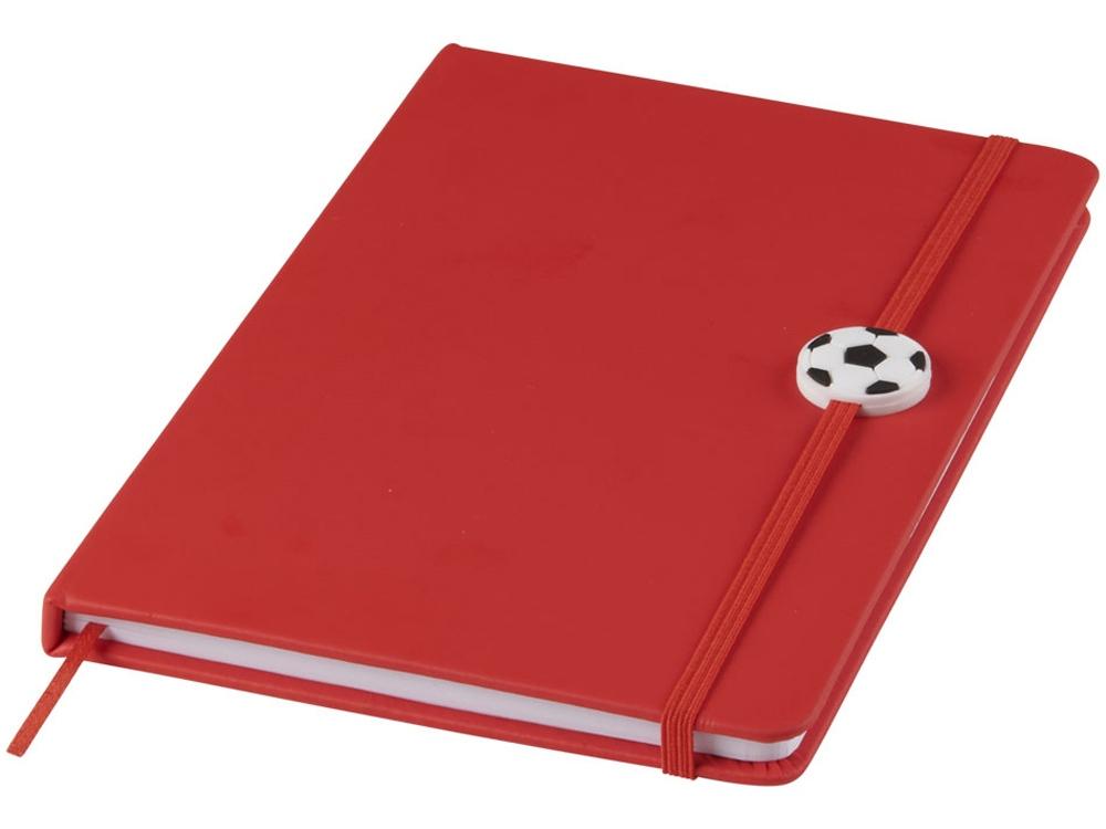 Блокнот A5 Rowan, красный