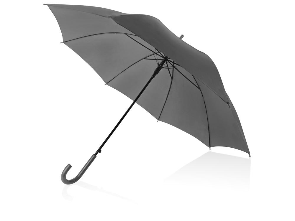 Зонт-трость Яркость, серый