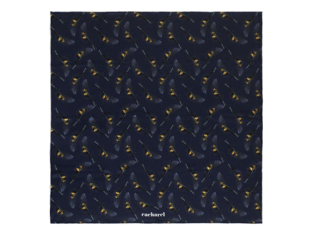 Шелковый платок Victoire Navy