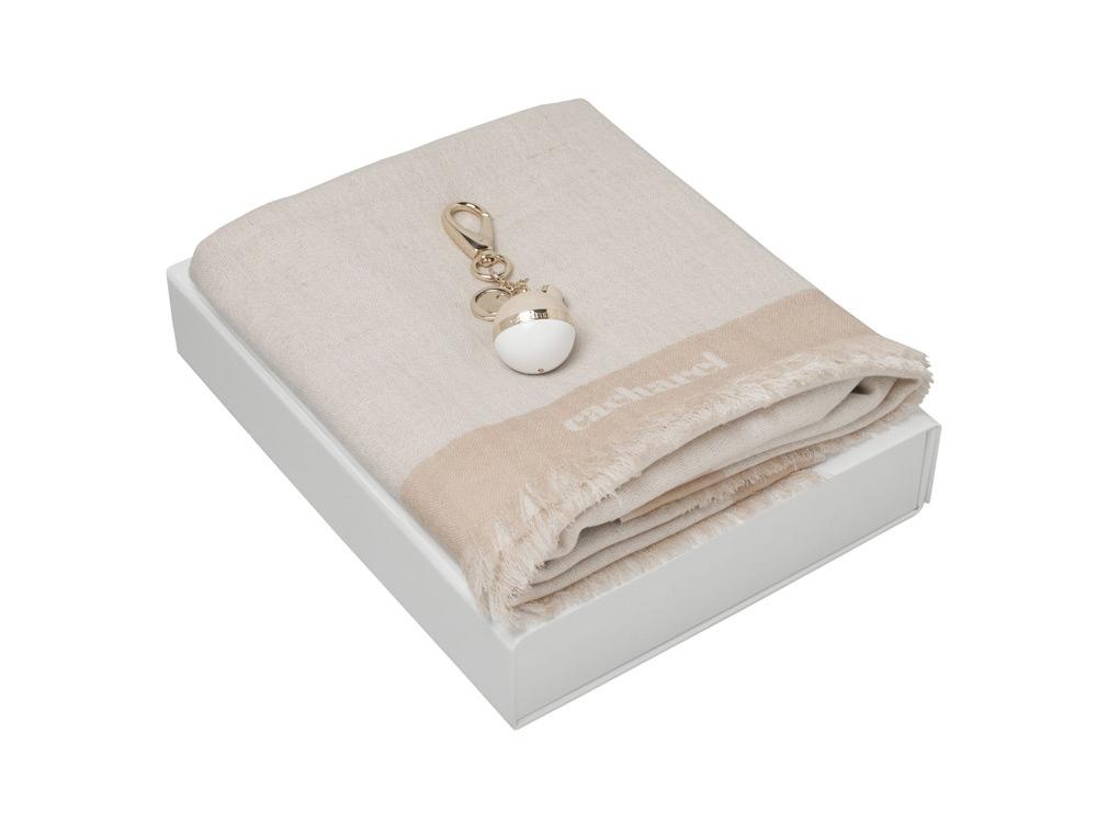 Подарочный набор Bird: брелок, шарф. Cacharel