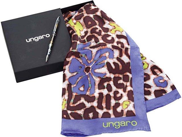 Набор: ручка шариковая, платок шелковый «Petali»