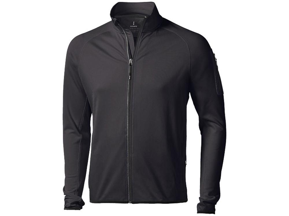 Куртка флисовая Mani мужская, черный